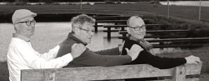 Het Kamerata team: Paul Scholten, Klaas Poppens en Peter Hansson (vlnr)